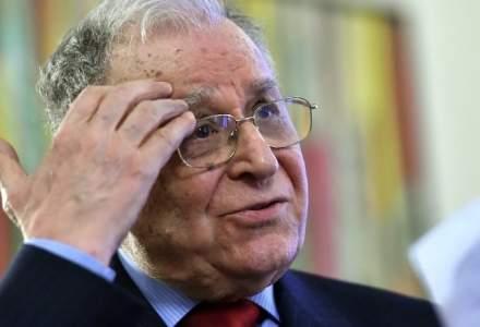 Fostul presedinte al Romaniei Ion Iliescu se afla internat la Spitalul Elias din cauza unor probleme cardiace