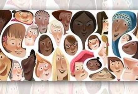 Google sarbatoreste Ziua Femeii cu un logo special