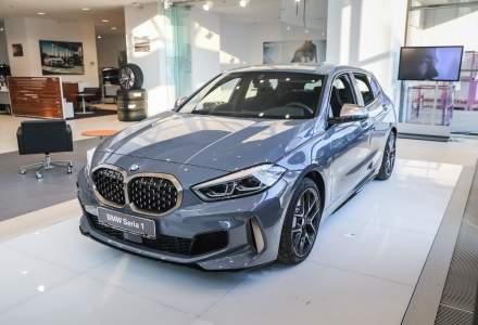 Noul BMW Seria 1 a debutat in Romania. Are un pret de pornire de 27.000 euro cu TVA