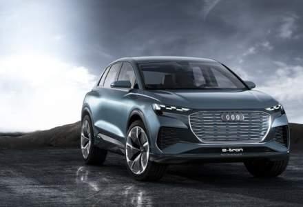 Audi lucreaza la 3 modele electrice pe platforma MEB a grupului VW: pe lista sunt doua SUV-uri si un sedan