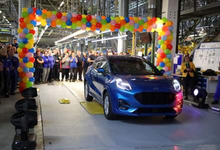 Ford lanseaza la Craiova productia noului Puma, primul vehicul hibrid din Romania