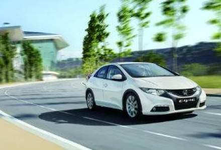 (P) Honda a lansat in Romania cel mai economic model din clasa compacta - noul Civic Diesel 1.6 i-DTEC