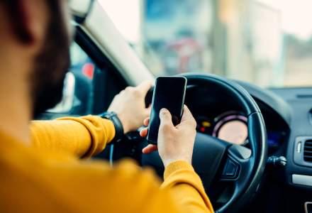 """Politia incepe """"urmarirea"""" soferilor care folosesc telefonul la volan"""