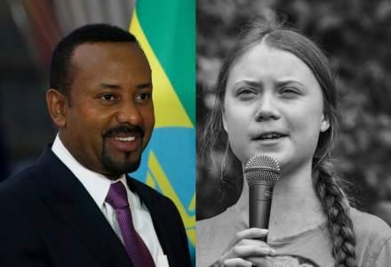 Greta Thunberg a pierdut cursa Premiului Nobel pentru Pace. Premierul etiopian este castigator