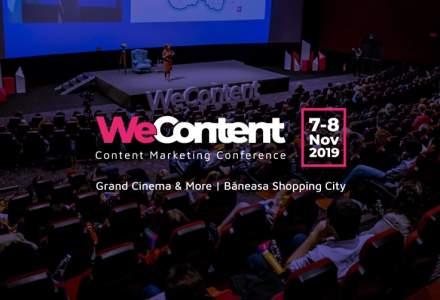 WeContent 2019: Invata content marketing de la cei mai buni experti internationali