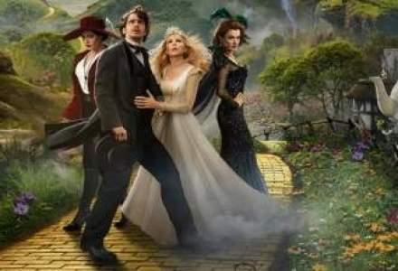Grozavul si puternicul Oz se mentine pe primul loc in cinematografele romanesti