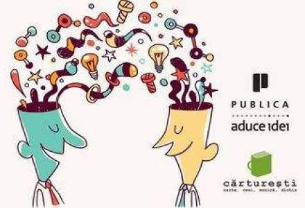 5 zile de idei la Carturesti: dezbateri despre trendurile in economie, antreprenoriat, educatie, investitie si internet
