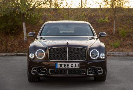 Bentley Mulsanne Speed - Test Drive cu un sedan de peste 300.000 euro