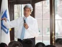 John Kerry, in vizita la...