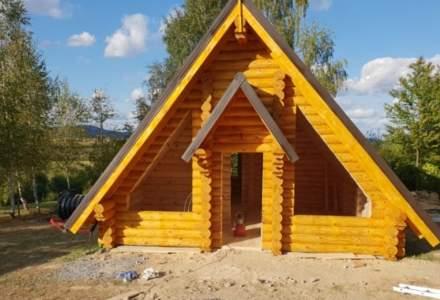 (P) Casele din busteni rotunzi cu lemn de pin finlandez din ce in ce mai populare