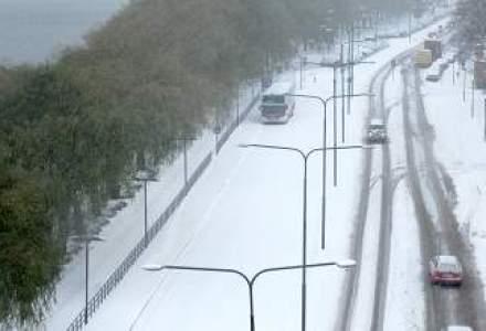 Starea drumurilor: nicio sosea inchisa in tara din cauza codului de viscol si ninsori