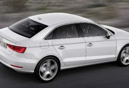 Primele imagini cu Audi A3 sedan, disponibil din vara