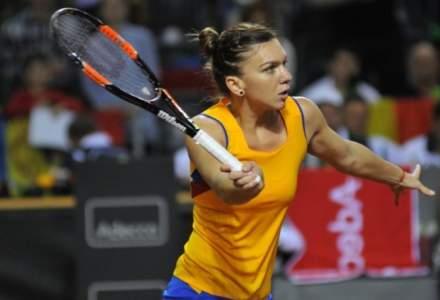 Simona Halep joaca meciul decisiv cu Karolina Pliskova, la Turneul Campioanelor