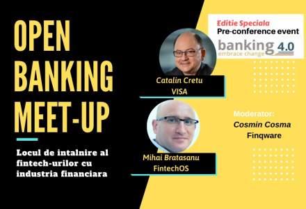 """Open Banking Meet-up #4: Visa si FinTechOs se pun la aceeasi masa pentru a vorbi despre provocarile erei """"Open Banking"""""""