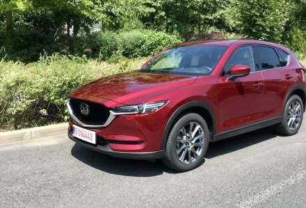 Aproximativ 1.200 de SUV-uri Mazda au ajuns in Romania in primele 10 luni