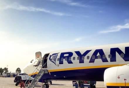 "Trei avioane Ryanair, consemnate la sol din cauza unor fisuri la ""furculita de muraturi"""