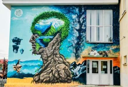 GALERIE FOTO Bacaul, orasul cu cele mai multe picturi murale care purifica aerul din Europa