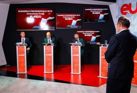 Peste un milion de oameni au urmarit singura dezbatere electorala organizata de EuropaFM inainte de alegerile prezidentiale