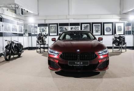 BMW Seria 8 Gran Coupe, prezentat la Muzeul Tehnic Dimitrie Leonida