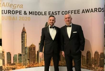 """5 to go a castigat argintul la categoria """"Cel mai bun lant de cafenele"""" in cadrul European Coffee Awards"""