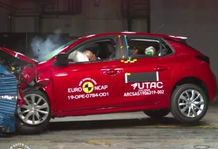 Euro NCAP a testat patru modele noi de masini. Unul a primit 4 stele
