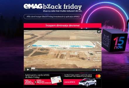 eMAG - Numaratoarea inversa pana la Black Friday - site-ul, inchis