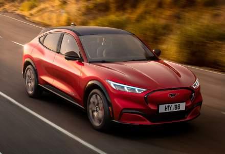 Ford va lansa in Romania SUV-ul electric Mustang Mach-E in 2021
