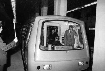 Metrorex marcheaza marti 40 de ani de la punerea in circulatie cu calatori a primului tronson de metrou Semanatoarea - Timpuri Noi