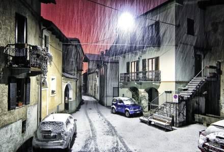 ANM spune ca primele ninsori ar putea cadea in urmatoarele 3-4 zile