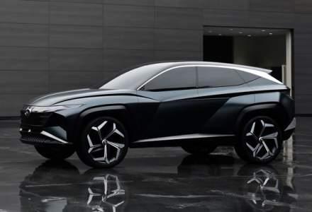 Hyundai a dezvaluit Vision T Concept: SUV-ul plug-in hybrid anticipeaza designul viitoarelor modele ale constructorului