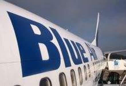 Blue Air a inregistrat afaceri de peste 175 mil. lei in S1