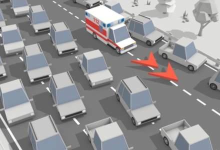 """Polonia a implementat sistemul """"Coridoare de urgenta"""" pentru vehicule de urgenta"""