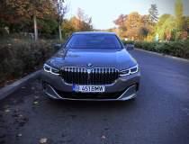 Test drive cu BMW 745e...