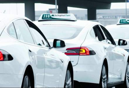 Soferii de taxi din Amsterdam se plang de fiabilitatea Tesla