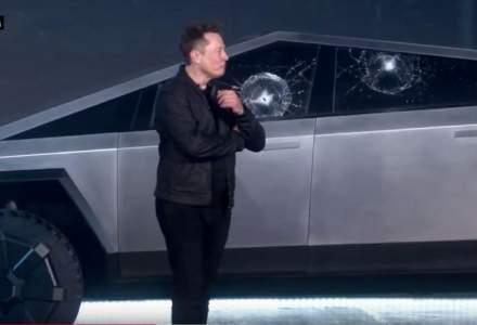 Pierdere de 768 de milioane de dolari pentru Elon Musk dupa incidentul Cybertruck