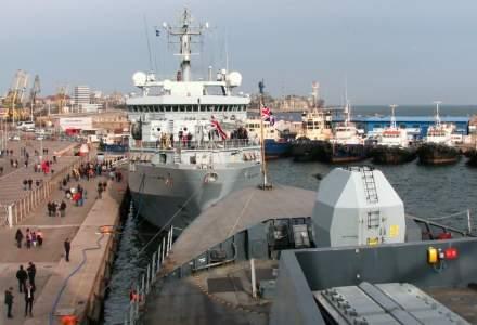 VIDEO O nava cu 14.000 de oi s-a scufundat in Portul Midia. Au fost salvate 2 oi pana acum