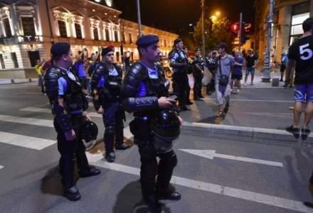 Protestatari cer daune morale de 200.000 de lei de la Jandarmerie