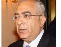 Premierul palestinian Salam...