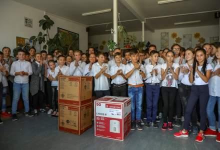 Peste 100.000 de copii si varstnici din Romania au apa calda dupa donatiile Ariston