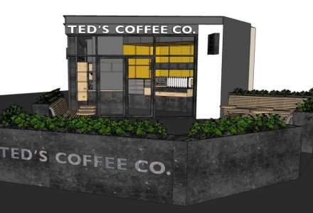 O noua cafenea TED'S in Bucuresti. Brandul intentioneaza sa aiba 30 de spatii deschise pana la finalul anului