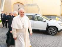 Papa Francis a primit cadou...