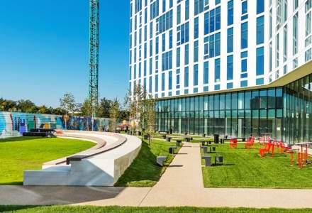 Societe Generale inchiriaza o suprafata de 10.500 mp de spatii de birouri in Campus 6, proiect dezvoltat de catre suedezii de la Skanska