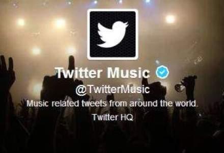 Twitter a lansat serviciul muzical Twitter Music