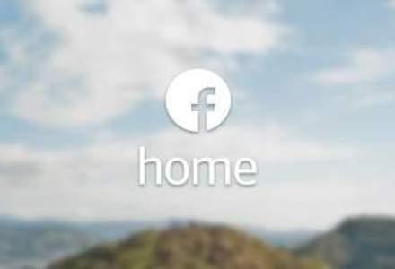 Aplicatia Facebook Home a fost descarcata de peste 500.000 de ori