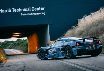 Hypercar-ul electric Rimac C_Two, testat la Centrul Tehnic Nardo detinut de Porsche: versiunea de serie va fi prezentata in martie