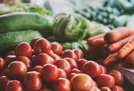 Fructele si legumele, in top 5 categorii de produse vandute in comertul modern din Romania