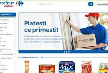 Este oficial: Carrefour a lansat primul sau magazin online