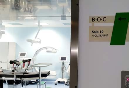 FOTO Cum arata Blocul Operator Central al Spitalului Universitar de Urgenta. 11 sali de operatie moderne vor fi redeschise intr-o saptamana