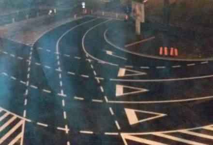 "Primaria Timisoara a inventat ""super turbo-giratia"". Circulatia a fost redeschisa luni dimineata in intersectia de la AEM"