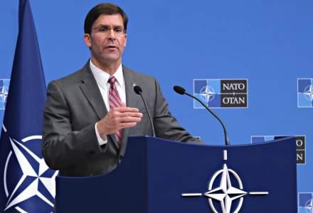 """Mark Esper, seful Pentagonului, denunta statele """"parazite"""" din cadrul NATO: Aliantele noastre nu se bazeaza pe tranzactii comerciale"""